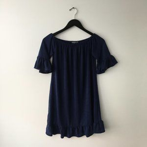 Cotton On Basic Minimal Blouse Blue XS X-Small